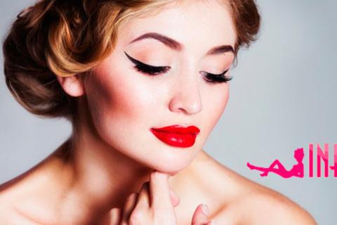Перманентный макияж губ, бровей и век или микроблейдинг + окрашивание бровей и ресниц в салонах  Infiniti и Cappuccino. Скидка до 85% от КупиКупон