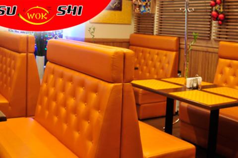 Все меню японской, китайской, итальянской и европейской кухни, а также все напитки в кафе SuWokShi. Скидка 50%