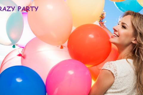 Гелиевые шары (обычные и Hi-Float), а также букеты разноцветных ромашек из воздушных шаров от компании Crazy Party. Скидка до 60%