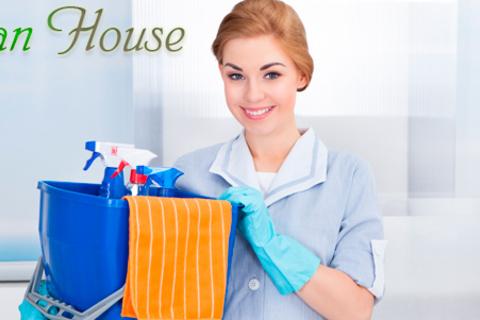 Генеральная или комплексная уборка квартиры площадью до 100 кв. м от клининговой компании Clean House. Мытье окон, микроволновой печи, духового шкафа, холодильника, глажка белья и не только. Скидка до 75%