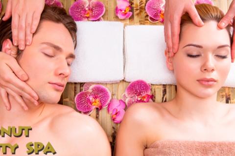 Специальные spa-программы к 23 февраля выбор для одного или двоих и сеансы массажа от spa-салона Coconut Beauty Spa.  Скидка до 79%
