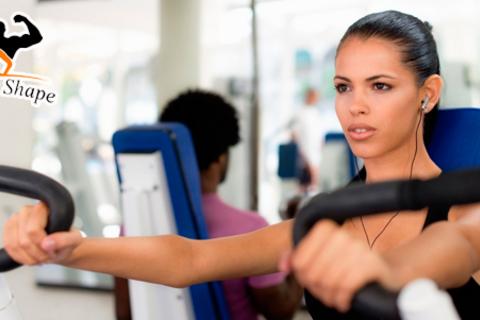 1, 2 или 3 месяца безлимитного посещения тренажерного или аэробного зала в фитнес-центре Fitness shape со скидкой до 67%