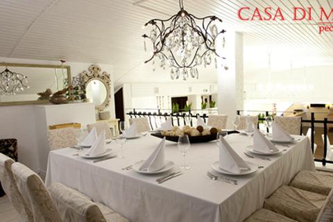 Всё меню и напитки в ресторане Casa Di Mosca. Мир утонченной итальянской кухни! Скидка 50%