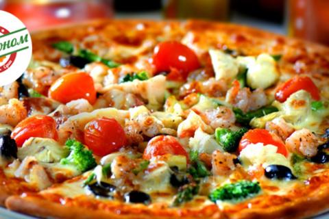 Разнообразьте свой рацион! Пицца, роллы, теплые роллы и десерт от службы доставки «Гастроном». Скидка 50%