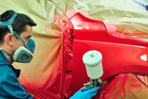 Покраска деталей, полировка кузова, комплексная химчистка салона в автосервисе Techcar77.  Скидка до 86%