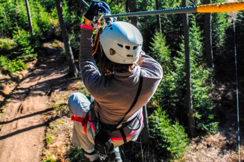 Посещение веревочного парка для одного, двоих или шестерых в новом развлекательном парке на Дубравной. Скидка до 61%