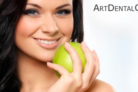 Сертификаты на стоматологические услуги в «Арт Дентал Клиник»: лечение кариеса, пульпита, компьютерная и рентген-диагностика, чистка Air Flow, отбеливание и не только. Скидка до 82%
