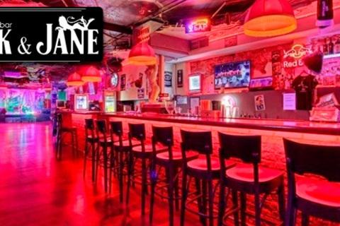Скидка 50% на всё меню и напитки в стильном баре Jack & Jane на Чистых прудах. Каждому гостю комплимент от заведения на выбор!