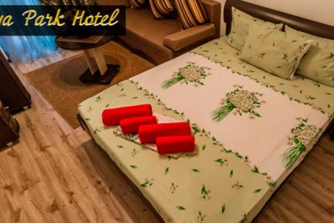 Отдых в отеле Papaya Park Hotel в Сочи. Комфортабельные номера, удачное расположение, великолепный сервис!  Скидка 50%