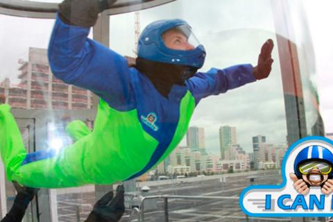 Полет в аэродинамической трубе от 2 до 60 минут для одного, двоих или компании до 12 человек в комплексе I can fly в ТЦ «Авиапарк». Скидка до 50%