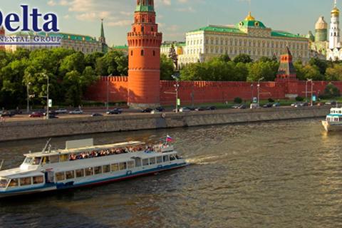 Праздник Победы на Москве-реке! Прогулка на теплоходе с праздничным салютом, ужином и караоке от компании Delta-Tours. Скидка до 38%