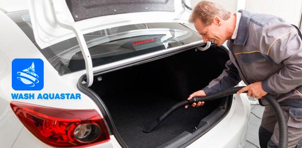 Химчистка, мойка и абразивная полировка автомобиля в сети автомоек «Аквастар» – Москва – КупиКупон
